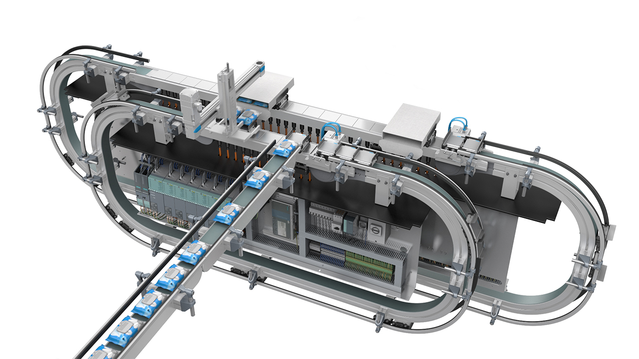 Leading plant and process automation firm uses Mechatronics Concept Designer to develop flexible packaging machines for the cosmetics industry