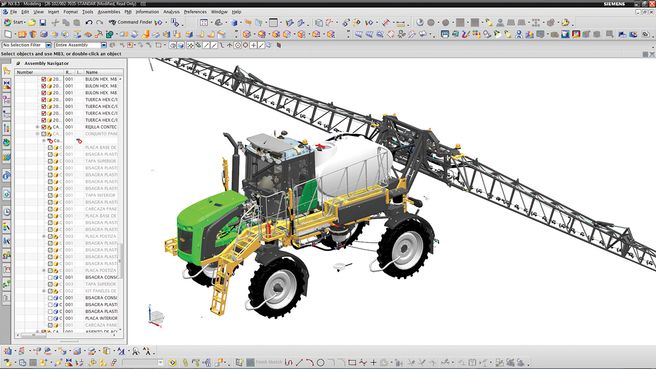 Designing and developing next-generation agricultural machinery for South America and the world