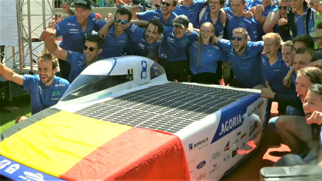 Agoria Solar Team Uses Siemens Software to Become World Champions