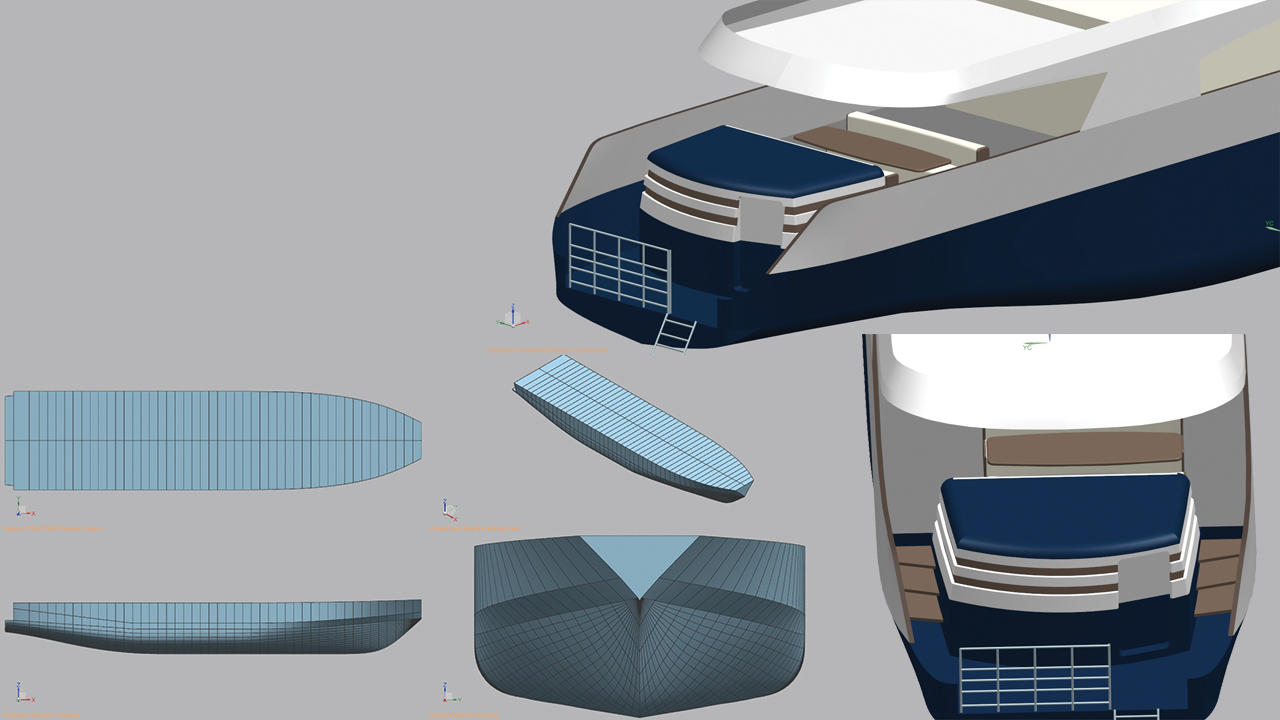 Ship design and modernization with NX CAD