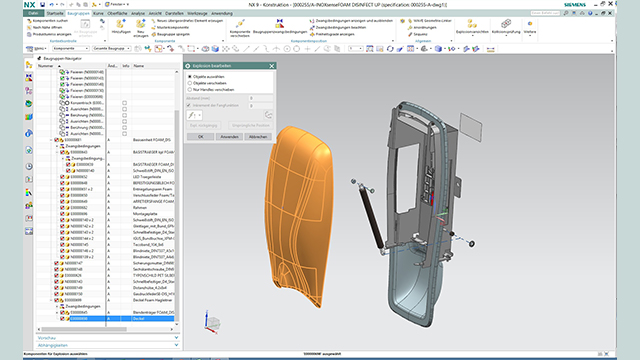 Along with the introduction of Teamcenter, Hagleitner implemented an upgrade of NX CAD.