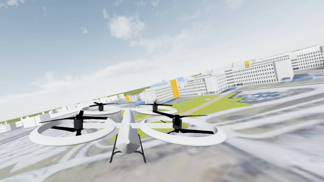Supporting the development of autonomous urban air mobility vehicles
