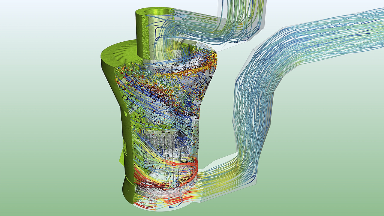 Simulation increases understanding of complex particulate flows