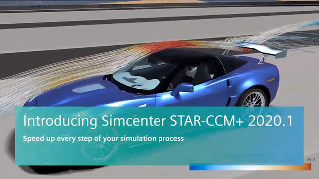 Simcenter STAR-CCM+ 2020.1