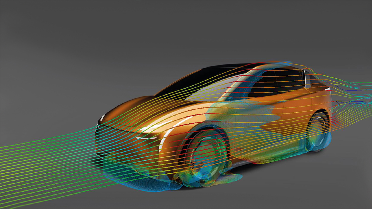 Realizing aerodynamics innovations for electric vehicles