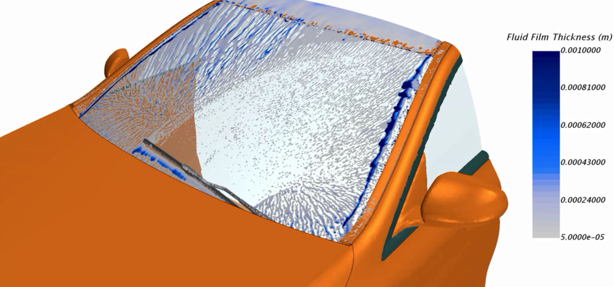 Optimizing vehicle aerodynamics for rain water management