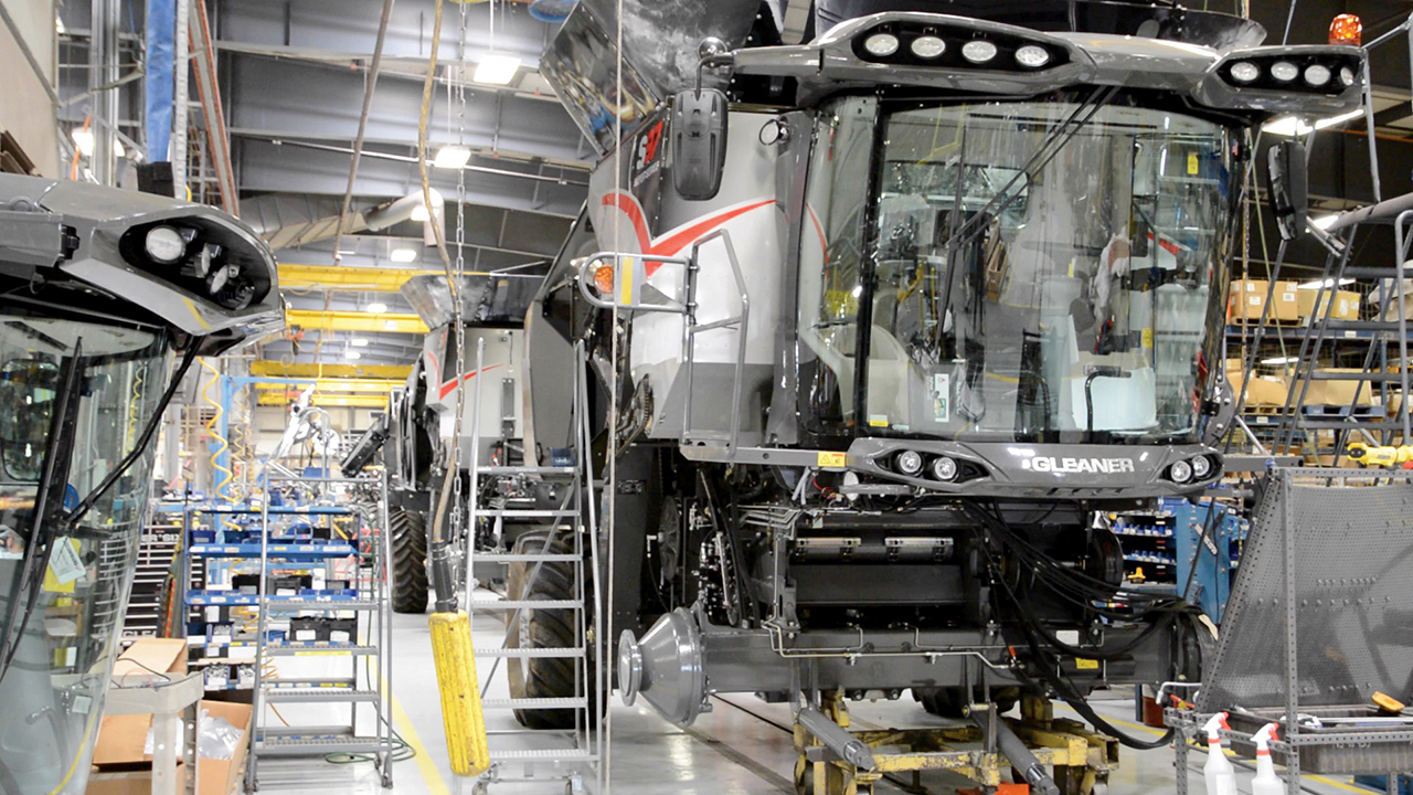 Digitalization supports global manufacturing at AGCO