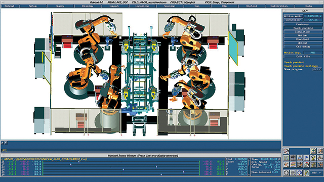 Robot simulation boosts profitability by 30 percent