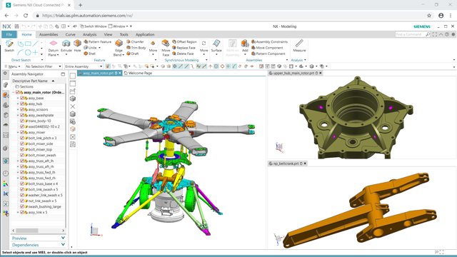 Try Siemens NX design software free for 30 days
