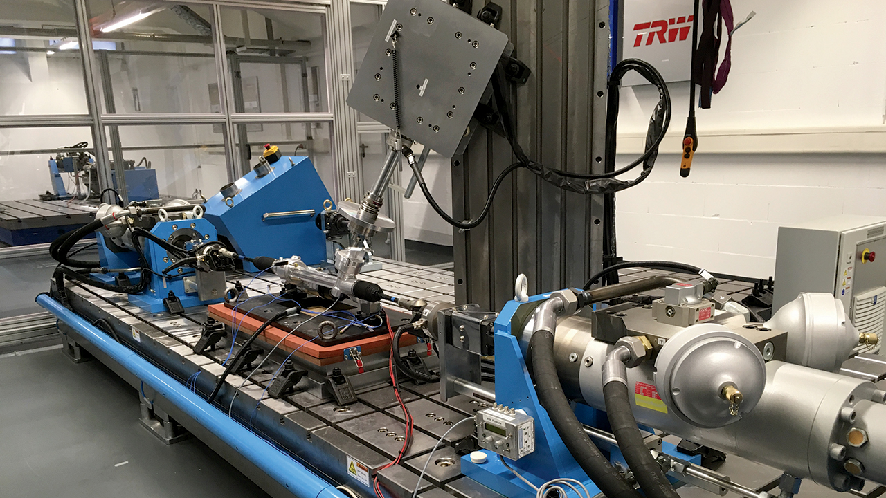 ZF TRW develops world's first exclusive NVH steering system bench