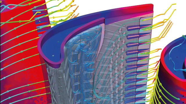 Gas turbine CFD