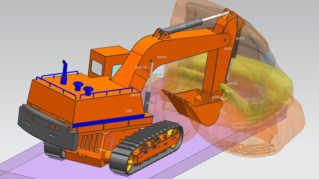 Integrated CAD/CAE Environment