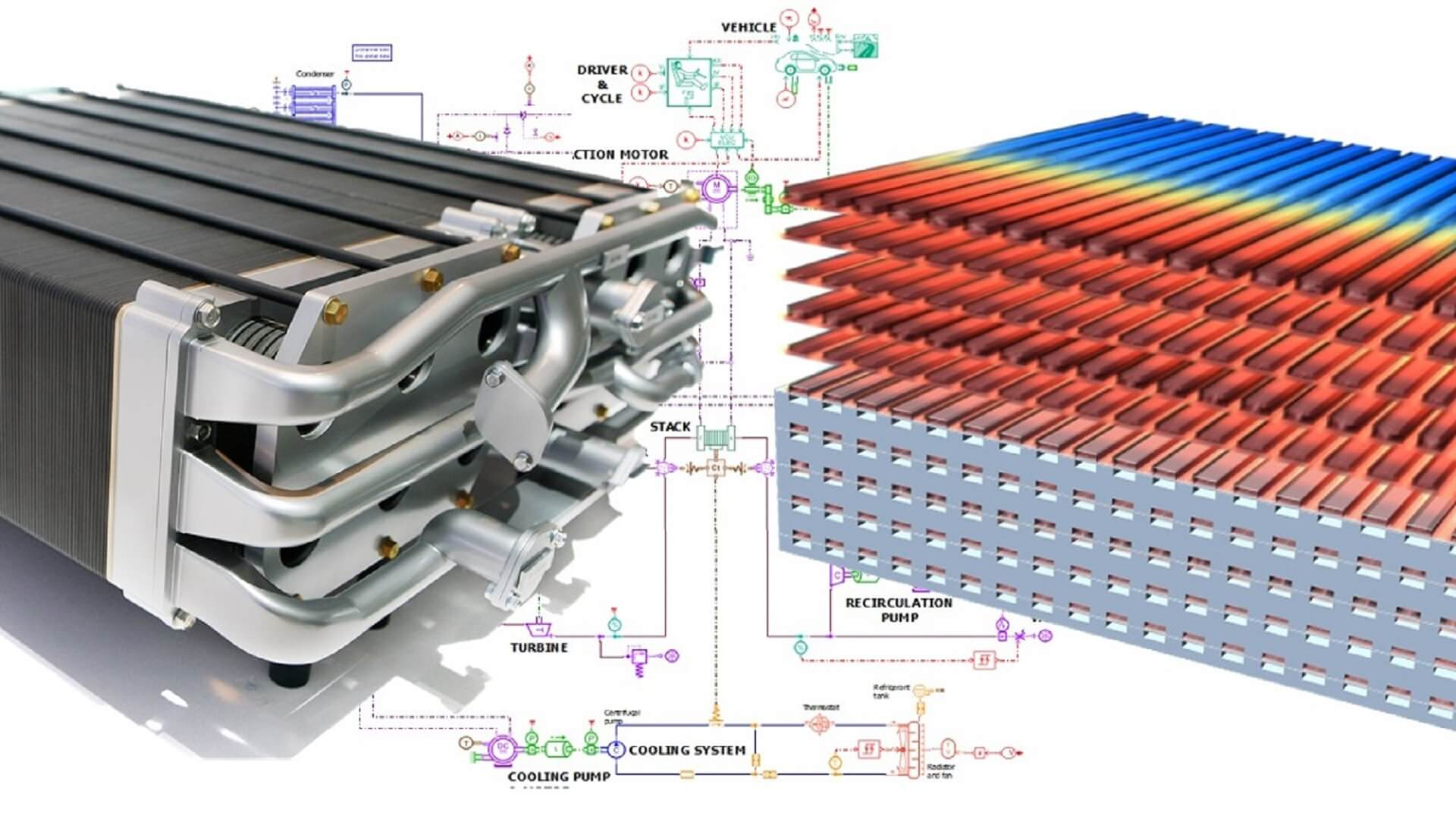 Master fuel cell design using a holistic simulation approach