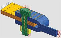 NX 仿真 - Nastran - 简化建模和工程工作流